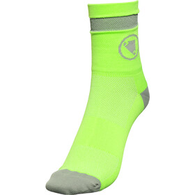Endura Luminite Strømper 1 par, hi-viz green/reflective